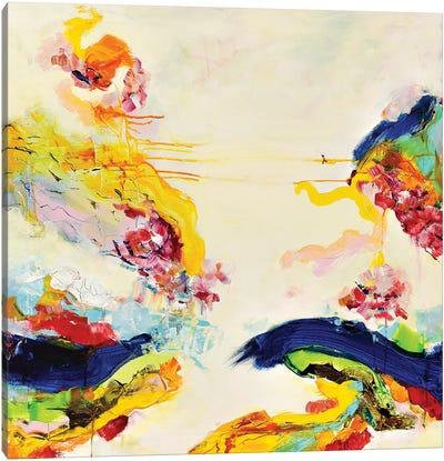 Rainbow Split Canvas Art Print