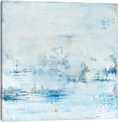 Soft Blue Morning Sky Canvas Art Print