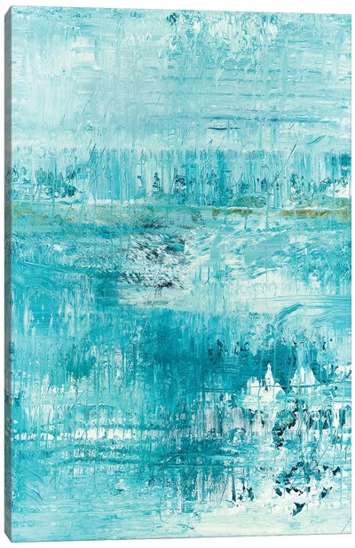 Blue Path Canvas Art Print