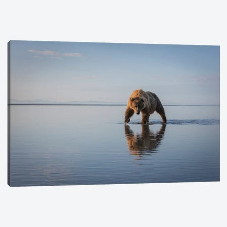Walking My Walk Canvas Print #RDO3} by Renee Doyle Canvas Wall Art