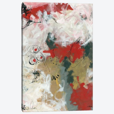 Abstract II Canvas Print #RDR10} by Annie Rodrigue Art Print