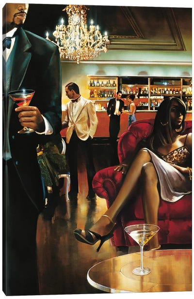 The Lounge Canvas Art Print
