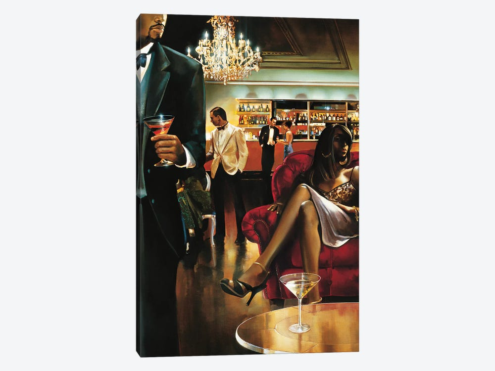 The Lounge by Ron Di Scenza 1-piece Canvas Art Print