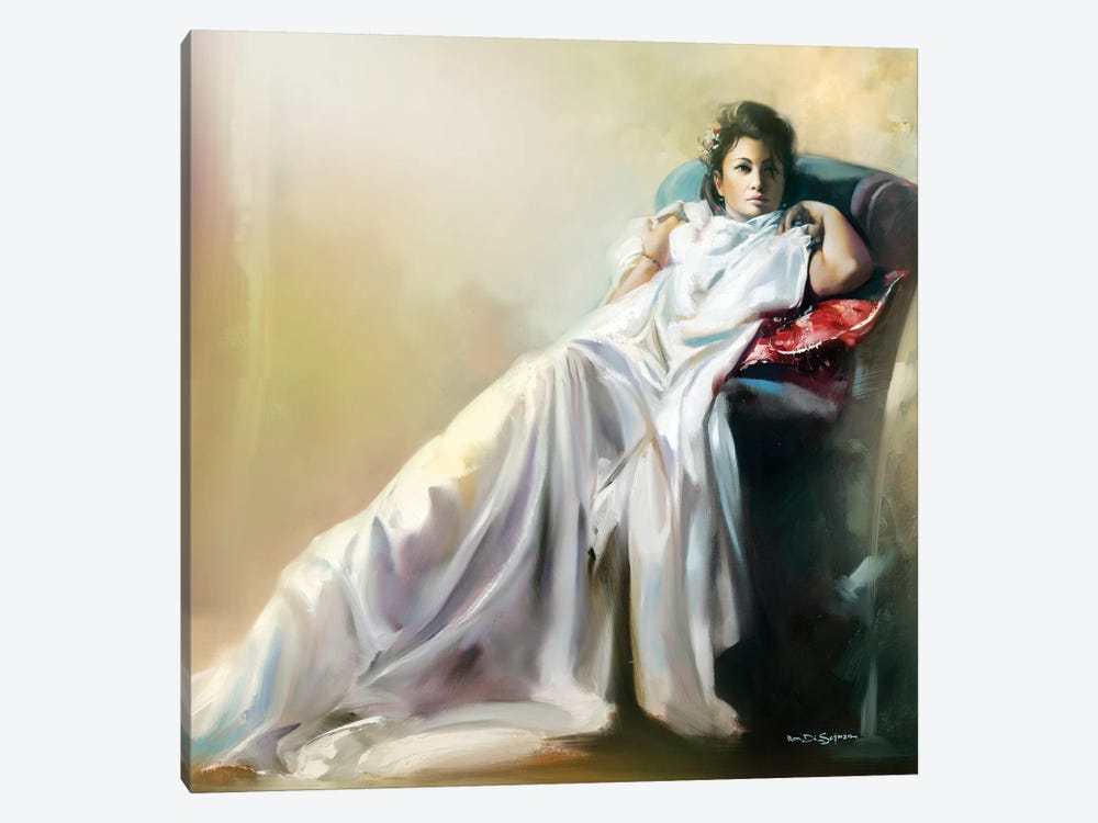 Thinking by Ron Di Scenza 1-piece Canvas Art