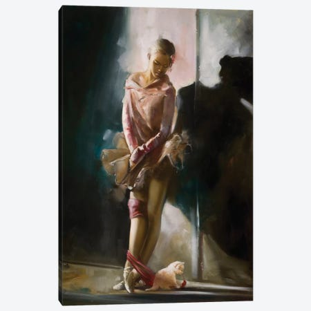 Back Stage Canvas Print #RDS10} by Ron Di Scenza Canvas Artwork