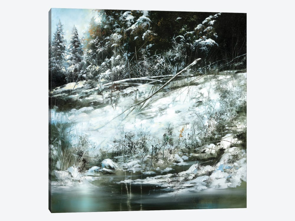 Winter's Edge by Ron Di Scenza 1-piece Canvas Art