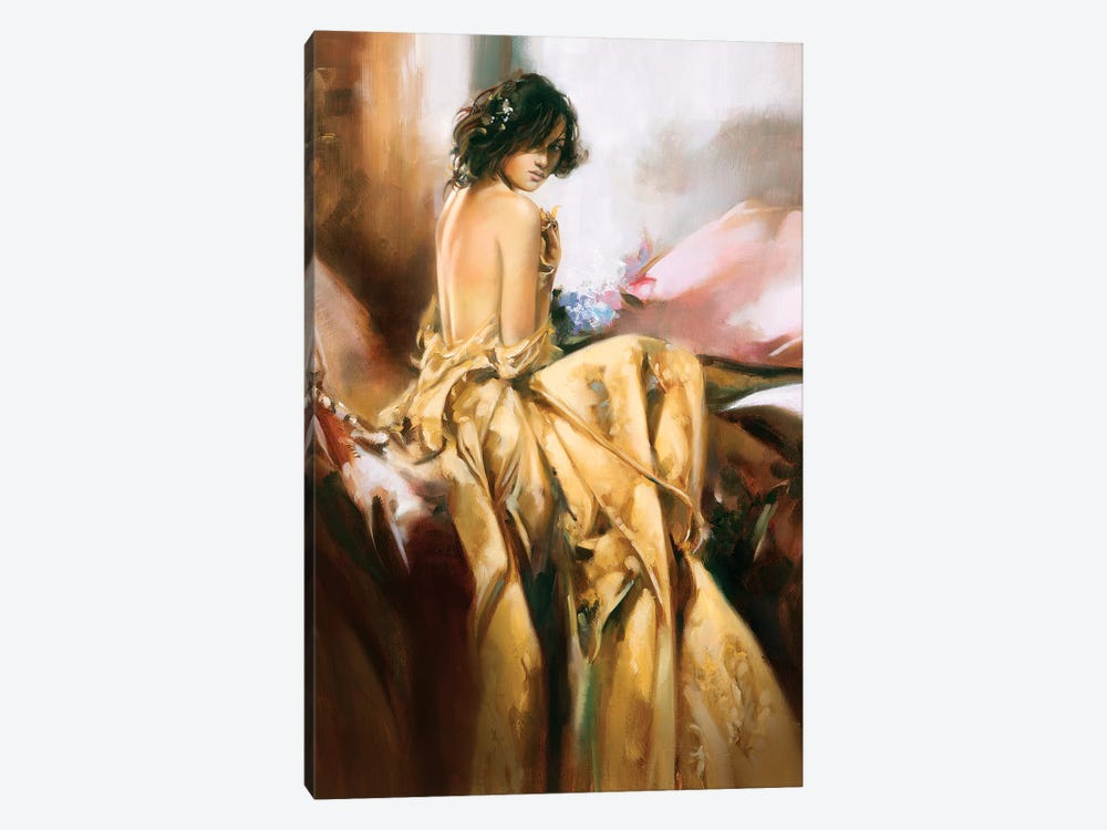 Yellow Splender by Ron Di Scenza 1-piece Canvas Wall Art