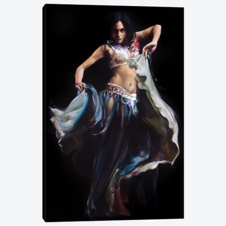 Belly Dance Canvas Print #RDS12} by Ron Di Scenza Canvas Artwork