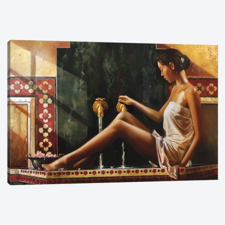 Cleansing Spirit Canvas Print #RDS25} by Ron Di Scenza Canvas Artwork