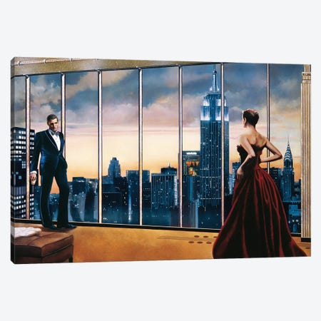 Evening Romance Canvas Print #RDS33} by Ron Di Scenza Canvas Art