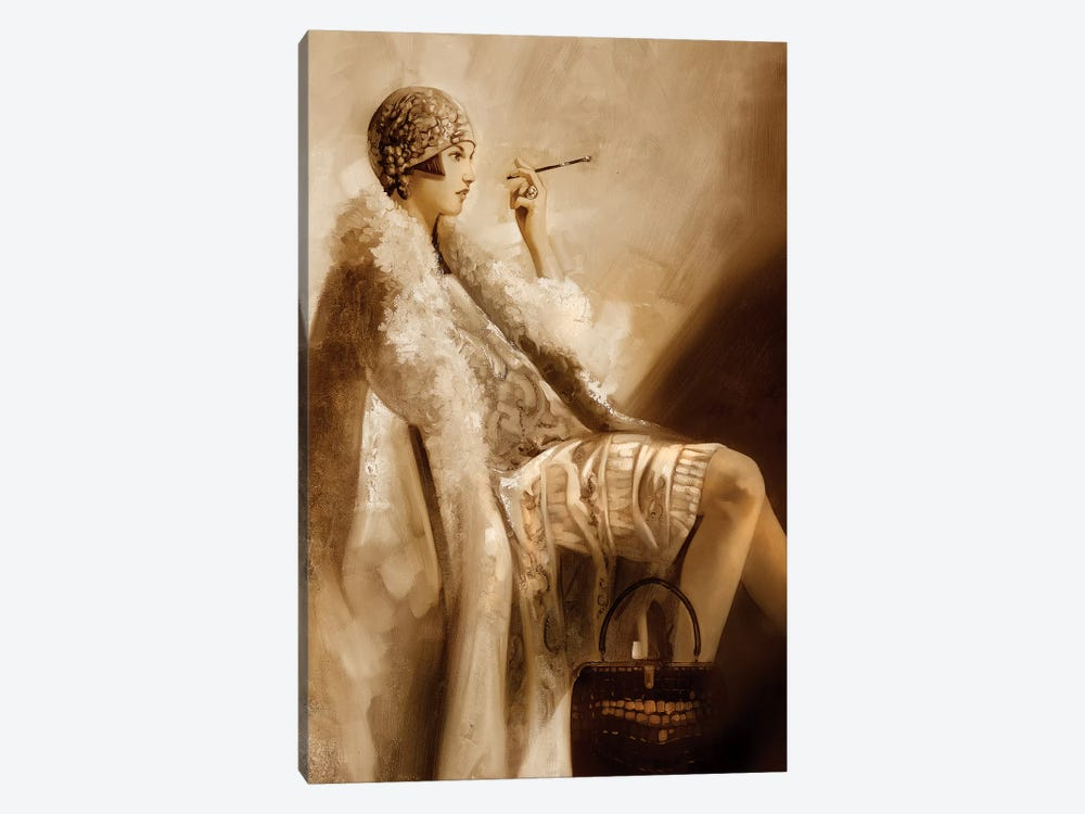 Flapper by Ron Di Scenza 1-piece Canvas Wall Art
