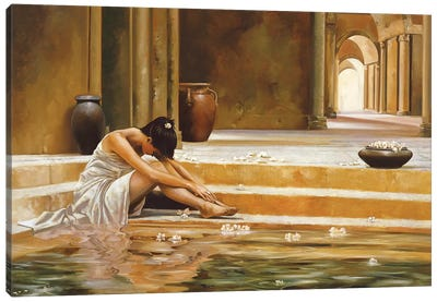 Healing Water Canvas Art Print