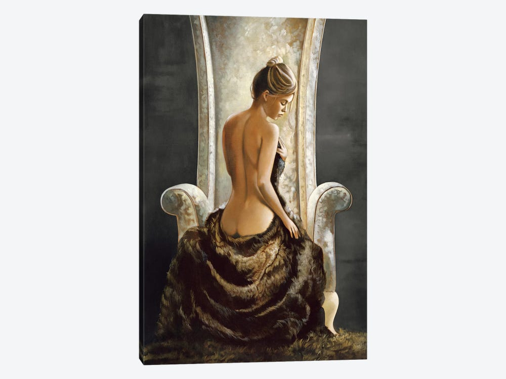 Lovely Lady by Ron Di Scenza 1-piece Canvas Print