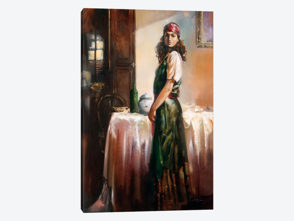Mystery by Ron Di Scenza 1-piece Canvas Art Print