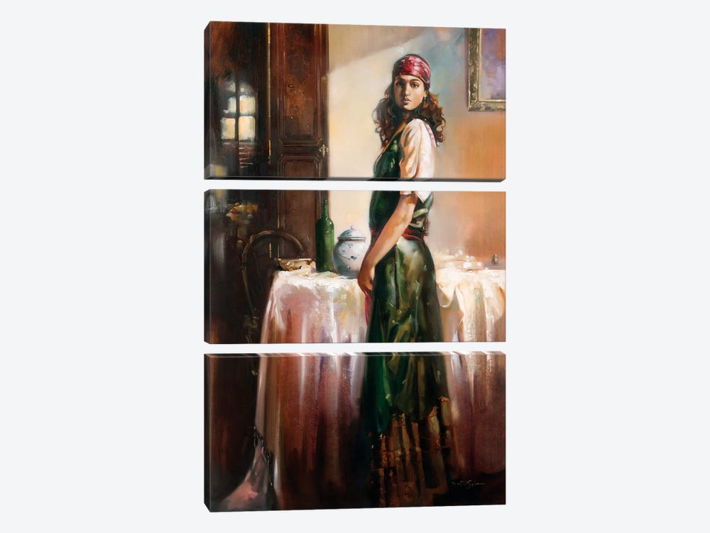 Mystery by Ron Di Scenza 3-piece Art Print