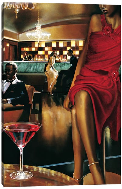 Night Out Canvas Art Print