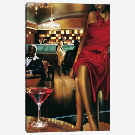 Night Out Canvas Print #RDS59} by Ron Di Scenza Canvas Art