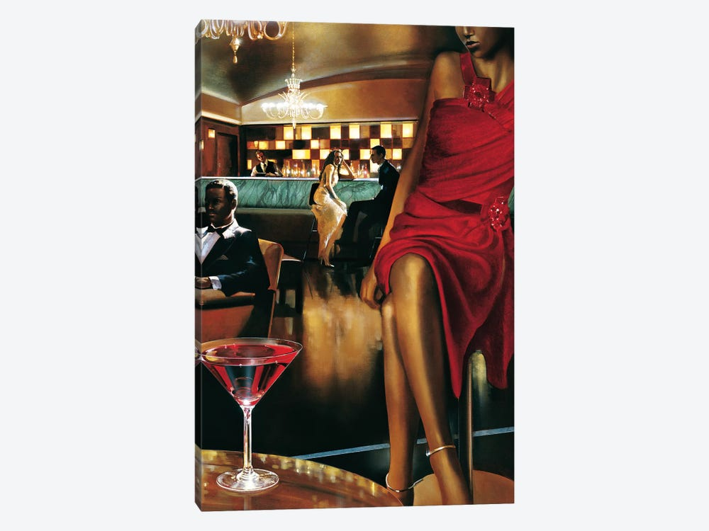 Night Out by Ron Di Scenza 1-piece Canvas Art
