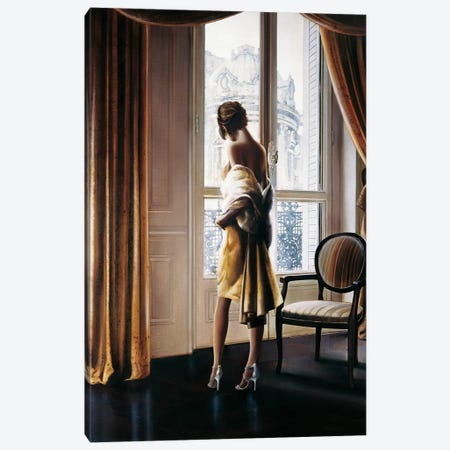 Parisienne Canvas Print #RDS64} by Ron Di Scenza Canvas Artwork
