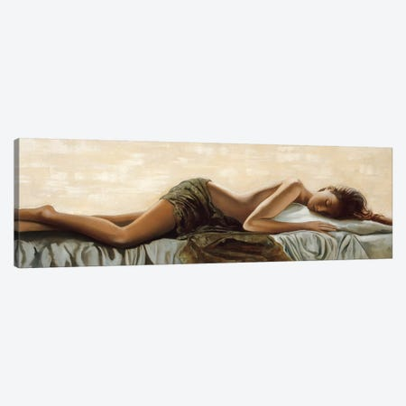 Peaceful Canvas Print #RDS65} by Ron Di Scenza Canvas Artwork