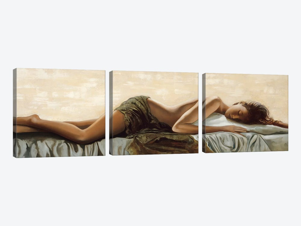 Peaceful by Ron Di Scenza 3-piece Canvas Art Print