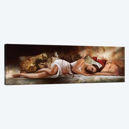 Peaceful Slumber Canvas Print #RDS66} by Ron Di Scenza Canvas Art