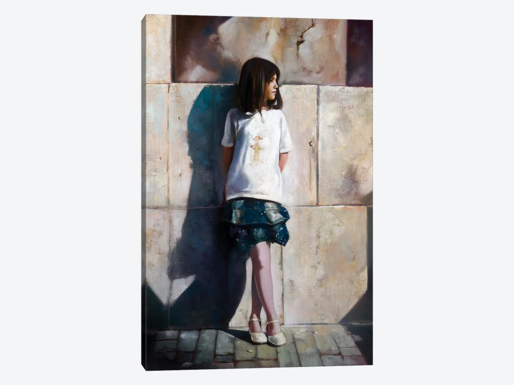 Pink Stockings by Ron Di Scenza 1-piece Canvas Artwork