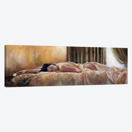 Quiet Moment Canvas Print #RDS72} by Ron Di Scenza Canvas Art
