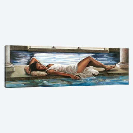 Restful Retreat I Canvas Print #RDS80} by Ron Di Scenza Canvas Art Print