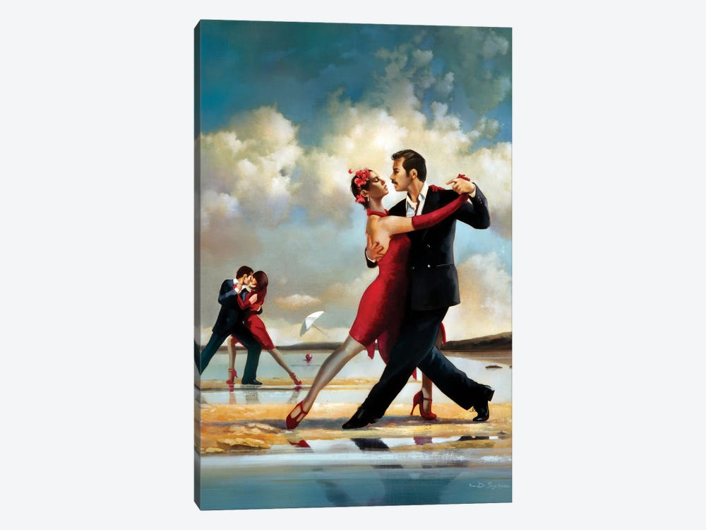Tango On The Beach by Ron Di Scenza 1-piece Canvas Artwork