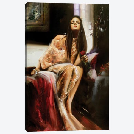 That Look Canvas Print #RDS94} by Ron Di Scenza Art Print
