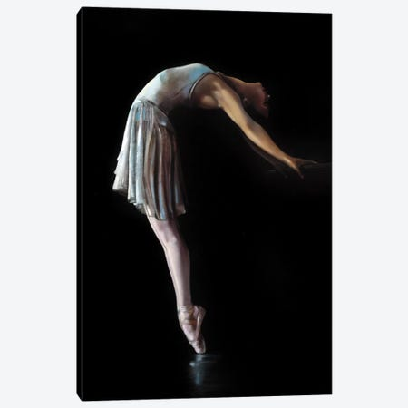 Back Bend Canvas Print #RDS9} by Ron Di Scenza Art Print