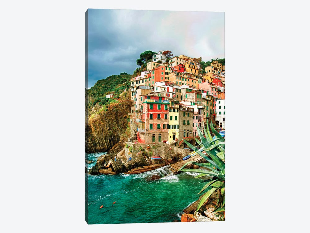 Coastal Town Of Riomaggiore (One Of the Cinque Terre), La Spezia Province, Liguria Region, Italy by Richard Duval 1-piece Canvas Art Print