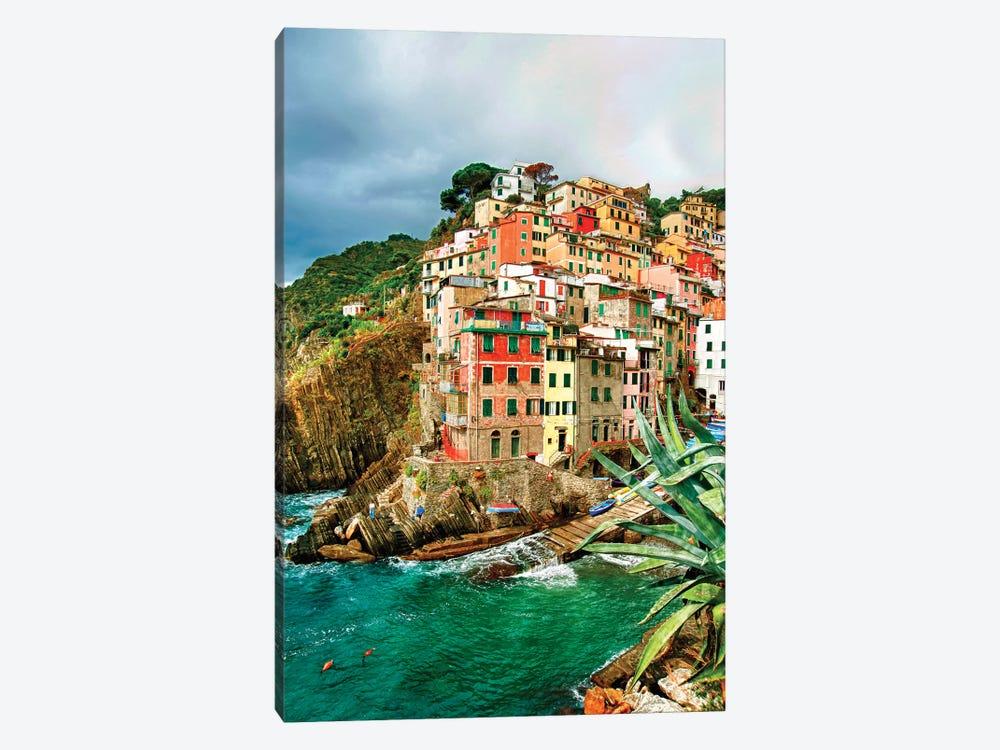Coastal Town Of Riomaggiore (One Of the Cinque Terre), La Spezia Province, Liguria Region, Italy by Richard Duval 1-piece Canvas Art Print