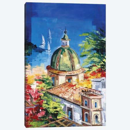 Positano Canvas Print #RDV10} by Roberto di Viccaro Canvas Print