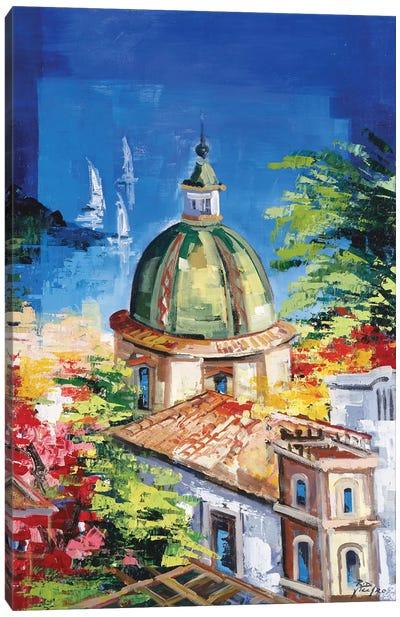 Positano Canvas Art Print