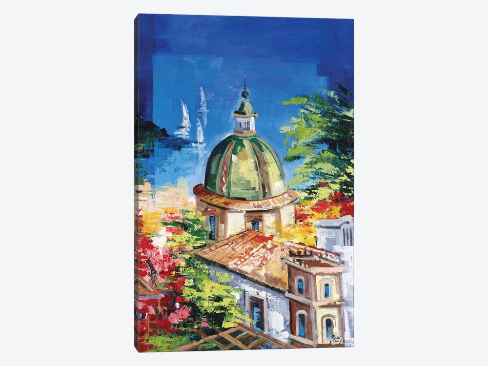 Positano by Roberto di Viccaro 1-piece Canvas Art Print