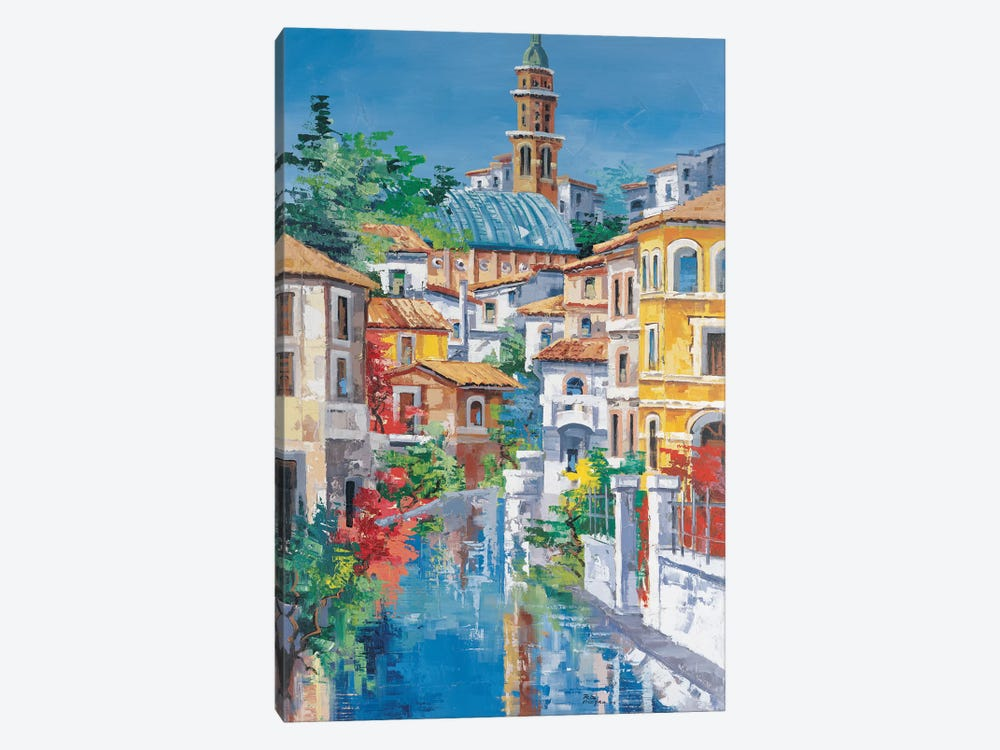 Riflessi Sul Fiume by Roberto di Viccaro 1-piece Canvas Wall Art
