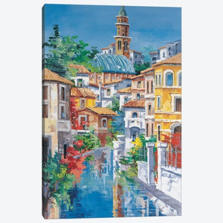 Riflessi Sul Fiume Canvas Print #RDV11} by Roberto di Viccaro Canvas Art Print