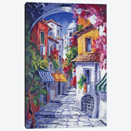 Vicolo Caratteristico Canvas Print #RDV12} by Roberto di Viccaro Canvas Print