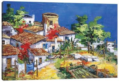 Colori dell' Isola Canvas Art Print