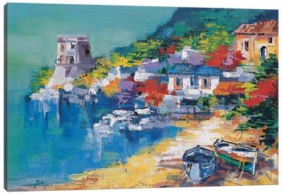Costiera Amalfitana Canvas Art Print