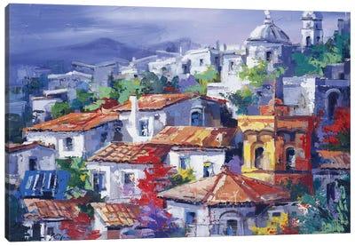 Paesaggio del Nord Canvas Art Print