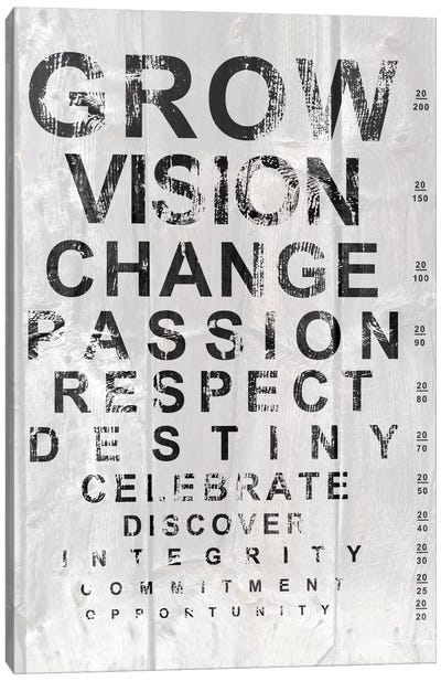 Eye Chart II Canvas Print #REA2