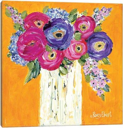 Vase Full of Sunshine Canvas Art Print