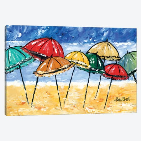 Beach Party Canvas Print #REB20} by Roey Ebert Canvas Art Print