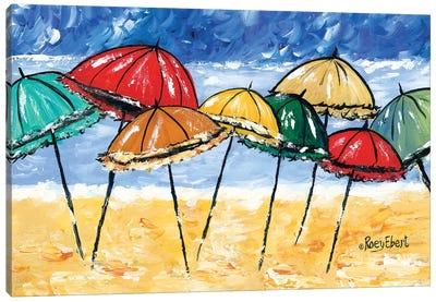 Beach Party Canvas Art Print