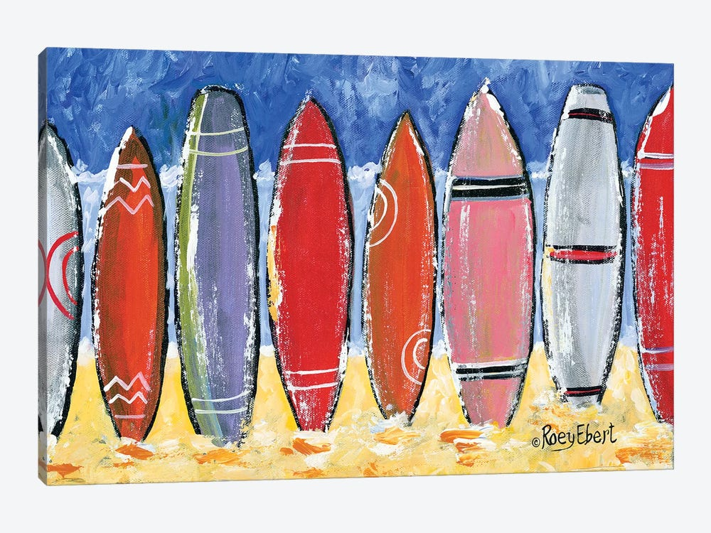 Beach Vibes by Roey Ebert 1-piece Art Print