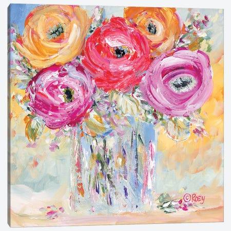 Burst of Bloom Canvas Print #REB28} by Roey Ebert Canvas Art Print