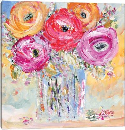Burst of Bloom Canvas Art Print